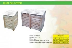 COMPOST BOX / DUSTIN BIN COVER