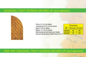 DIAGONAL TIGHT SCREEN 3