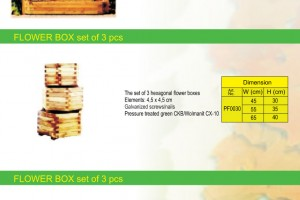 PERGOLA / FLOWER BOX